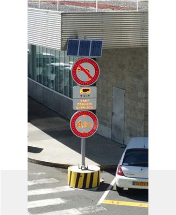 太阳能交通标志牌(圆形)