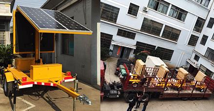 【河南郑州】选太阳能显示屏车 我们更信赖晗琨