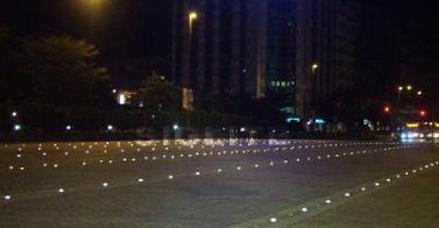 【北京】晗琨太阳能道钉新案例,也许就在您身边