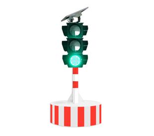 固定圆柱三灯信号红绿灯