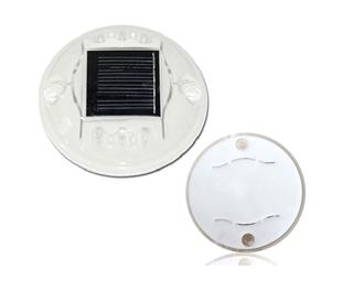 太阳能PC圆形道钉灯
