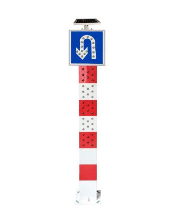 太阳能LED警示柱(可定制)