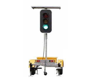 solar Portable signal light