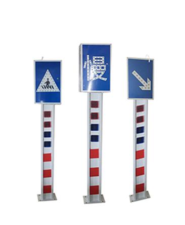 太阳能警示柱系列安装操作说明