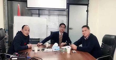 澳大利亚客户再次访问晗琨电子科技