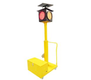 单灯头四面移动信号红绿灯
