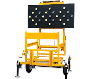 太阳能拖车式箭头导向车(25头像素筒)