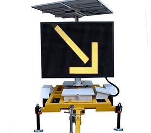 太阳能LED全彩信息情报板 VMSD