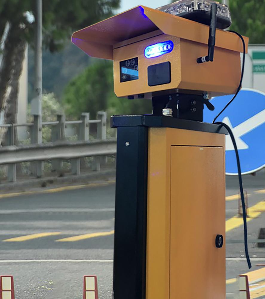 道路叉口路口预警安全系统