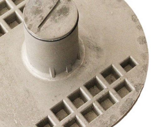 方形铸铝道钉